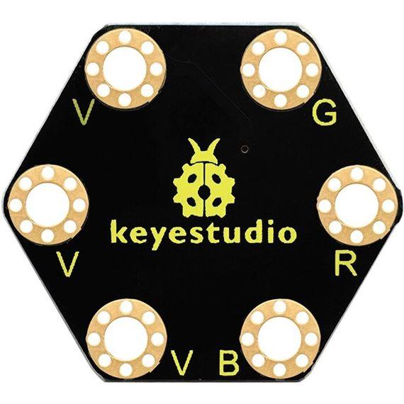Sensor de rotación analógica keyestudio
