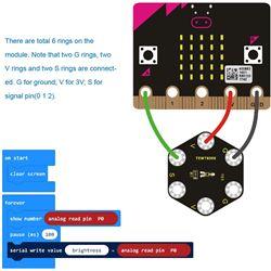 Keyestudio Sensor táctil capacitivo