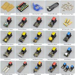 Keyestudio EASY Plug Kit de sensores con placa Easy Plug v2.0 (basada en Arduino Uno)
