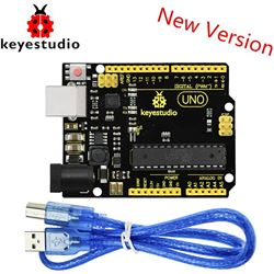 Keyestudio Placa UNO R3 Advanced con cable USB