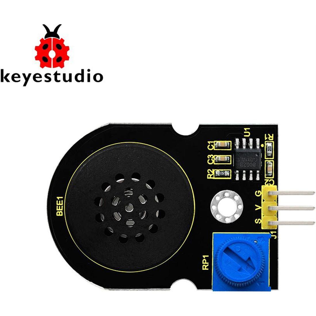 Keyestudio Altavoz con amplificador de potencia de audio