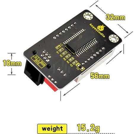 Keyestudio EASY Plug Matriz de LED 8x8 I2C HT16K33 direccionable